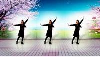 幸運兒廣場舞《中國美草原美》原創附口令教學完整版演示及口令分解動作教學