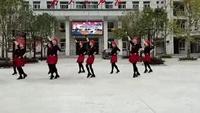 铜钱关镇雁子水兵广场舞表演队《雪山姑娘》正背面演示及口令分解动作教学