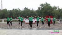 郑州市高新区通和社区舞蹈团2队广场舞 雪山姑娘 表演 团队版 原创附正背面教学口令分解动作演示