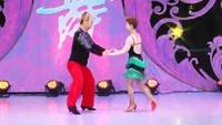 朱精超与杨丽交谊舞 亚历山大 表演 双人版 口令分解动作教学