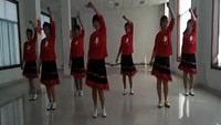 辛庄姐妹广场舞《一起嗨起来》团队表演编舞:华玲原创附教学口令分解动作演示