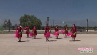 吉林向阳舞动青春舞蹈队广场舞  美丽的雪山姑娘 表演 团队版 完整版演示及分解教学演示