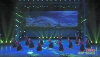 湖南永州南方舞蹈队广场舞 雪山姑娘 表演 团队版 口令分解动作教学演示