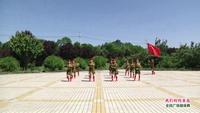 紫阳社区舞蹈队舞蹈   我们的钓鱼岛 表演 团队版 原创附教学口令分解动作演示