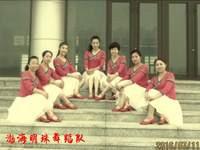 黄骅恋雪广场舞 故乡 背面展示