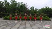 南昌新建省庄舞蹈队 雪山姑娘 表演 团队版 完整版演示及口令分解动作教学