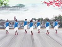 黄骅恋雪广场舞 红尘恋 正背表演与