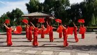 珊瑚兰心广场舞《中国火起来》梦舞《中国火起来》附正背面口令分解教学演示