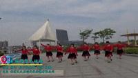 大丰港草庙雾里看花广场舞 美丽的雪山姑娘 表演 正背面演示及慢速口令教学