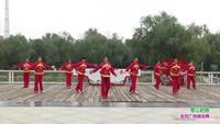 郑州市高新区通和社区舞蹈团3队广场舞 雪山姑娘 表演 团队版附正背面口令分解教学演示