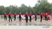 郑州市高新区通和社区舞蹈团5队广场舞 雪山姑娘 表演 团队版 附正背表演口令分解动作分解教学
