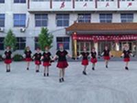柴堡舞蹈队广场舞  雪山姑娘 表演 团队版 正背面演示及慢速口令教学