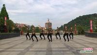 分宜天姿蓝舞蹈队广场舞   雪山姑娘 表演 团队版 正反面演示及分解动作教学