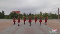 洮南爱舞知音舞蹈队广场舞  雪山姑娘 表演 团队版 口令分解动作教学