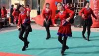 南张燕子广场舞《敖包再相会》编舞杨丽萍附正背表演口令分解动作分解教学