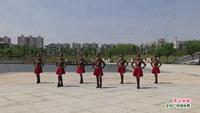 金溪对桥舞之韵广场舞 雪山姑娘 表演 完整版演示及分解教学演示
