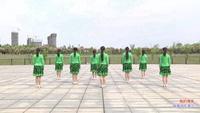 江西玲瓏飛雨廣場舞 我的情書 背面展示 正反面演示及分解動作教學