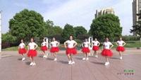 金格魅丽广场舞 雪山姑娘 表演 口令分解动作教学