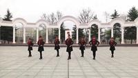 红阳厂广场舞 雪山姑娘 表演 正背面演示及慢速口令教学