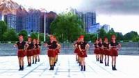 湖南辣妈梅广场舞队形版【雪山姑娘】编舞 春英老师原创附正背面教学口令分解动作演示