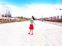 黄骅恋雪广场舞 爱是一首歌 动作分