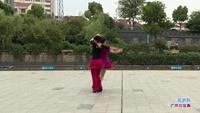 徐康英余敏交谊舞 雪山姑娘 表演 双人版 正背面演示及慢速口令教学