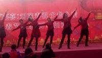 南张燕子广场舞郭庄高庄演出《敖包再相会》杨丽萍编正背面演示及慢速口令教学