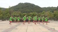 广东省广州市黄埔区黄埔街蓝燕舞队 雪山姑娘 表演 个人版 口令分解动作教学
