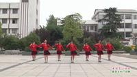 武汉新洲桂山姐妹舞蹈队广场舞   美丽雪山姑娘 表演 团队版 完整版演示及分解教学演示