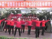 【2016廣場舞協會新春聯誼會】北京加州飛龍廣場舞 秋風無情 正背面演示及口令分解動作教學