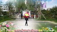 長安水仙花廣場舞《紅塵蝶戀》視頻制作:星星原創附教學口令分解動作演示