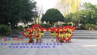 柳州市阳和工业新区社湾队 美丽的雪山姑娘 中国美 表演 团队版 正背面演示及慢速口令教学