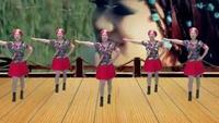 武汉黄陂区横店街三联社区芳草广场舞《雪山姑娘》附正背表演口令分解动作分解教学