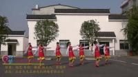 临湘桃林清泉社区喻家舞蹈队广场舞 美丽的雪山姑娘 表演 团队版