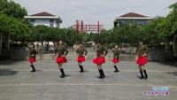 前湖村十二朵金花队广场舞 雪山姑娘 表演 团队版 正反面演示及分解动作教学