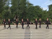 万年青云吉祥如意舞蹈队广场舞  雪山姑娘 表演 团队版 正反面演示及分解动作教学