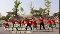 莱西市广场舞 撸起袖子加油干 表演 正背面口令分解动作教学演示