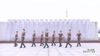 湖南常德石门县阳光歌舞社区1队 雪山姑娘 表演 个人版 正背面演示及慢速口令教学