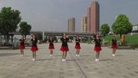 黄陂天河开心舞蹈队广场舞 雪山姑娘 表演 团队版 口令分解动作教学
