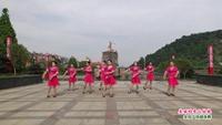 分宜铃山情舞蹈队广场舞   美丽的雪山姑娘 表演 团队版 经典正背面演示及口令分解动作教学