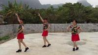 李青香广场舞《雪山姑娘》正反面演示及分解动作教学