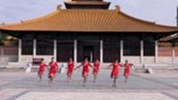 马堽集乡吴集村年轻的心舞蹈队广场舞 雪山姑娘 表演 团队版
