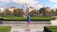 立华广场舞 雪山姑娘 背面展示与动作分解 个人版 正反面演示及分解动作教学