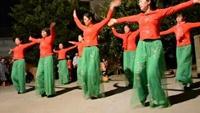 二屋红红火火广场舞《雪山姑娘》完整版演示及分解教学演示