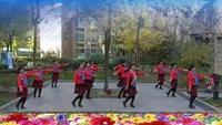西安华缘广场舞:雪山姑娘完整版演示及口令分解动作教学