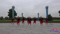 和县文庙舞蹈队广场舞 雪山姑娘 表演 团队版 完整版演示及分解教学演示