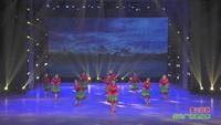郑州阳光文艺团广场舞  雪山姑娘  表演 团队版 完整版演示及分解教学演示