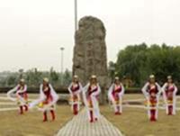 玉兰广场舞 美丽的雪山姑娘 表演 完整版演示及分解教学演示