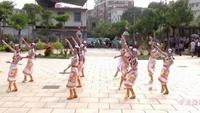 梅山广场舞:美丽虹舞蹈队-雪山姑娘正背面演示及口令分解动作教学和背面演