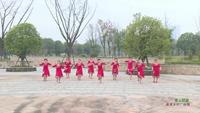 湖南郴州阳光广场舞队 雪山姑娘 表演 个人版 正背面演示及口令分解动作教学和背面演